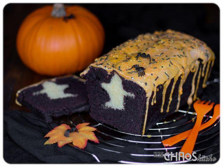 halloween kuchen mit gespenst ghost cake kleine chaosk che pinterest kuchen geister und. Black Bedroom Furniture Sets. Home Design Ideas