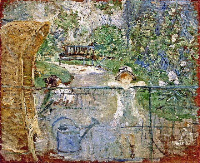 Berthe morisot famous paintings for Au jardin d enfants