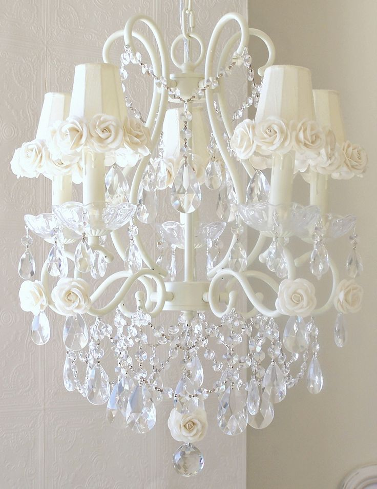 Shabby Chic Chandelier Inspiration For A Redo