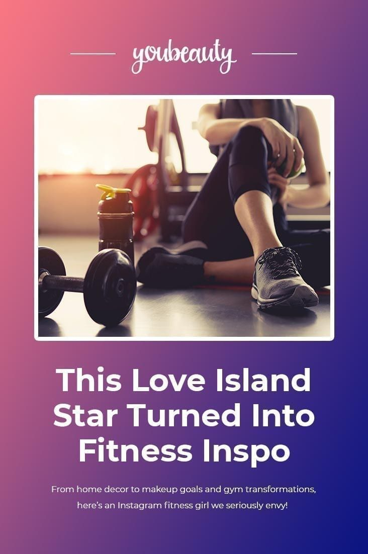 This Love Island Star Turned Into Fitness Inspo Instagram Can Be An Excellent Place For All Kinds Of Different Inspir Fitness Instagram Love Island Up Fitness