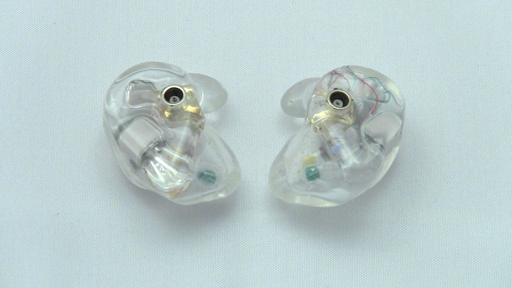 Get your in ear monitors customized today by www.inearcustom.com for only $119 In Ear Custom Clear LiveWire Trips reshell customized IEM face   http://www.inearcustom.com