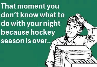 Missing hockey season