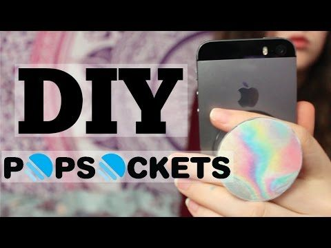 DIY POPSOCKET!!! Perfect for musical.ly! - YouTube