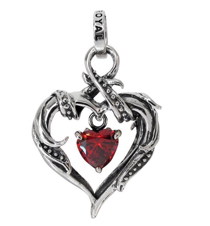 RHAPSODY HEART FRAME w/ AMELIA HEART PENDANT