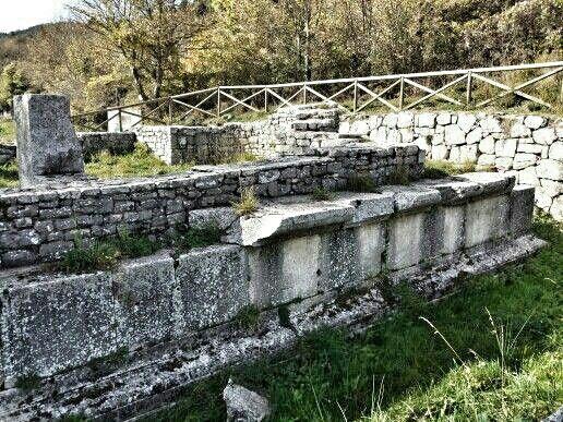 Tempio Italico di Vastogirardi.   © F Laurelli