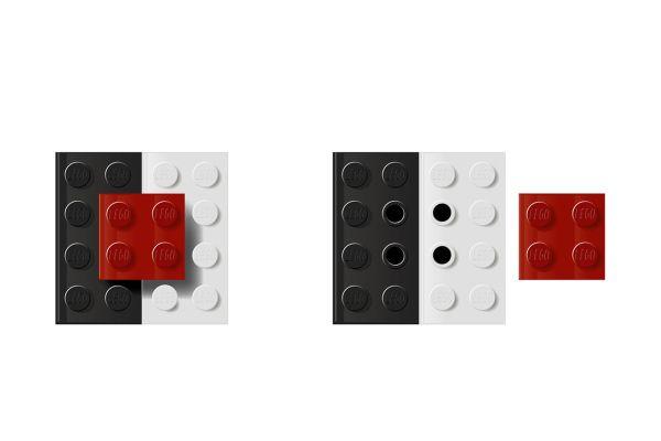LEGO Salt 'n' Pepper Shaker