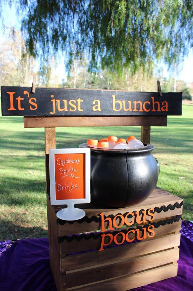 Adorably Hilarious 'Hocus Pocus' Inspired Halloween Party Photos & Inspiration! Kid's Punch Station
