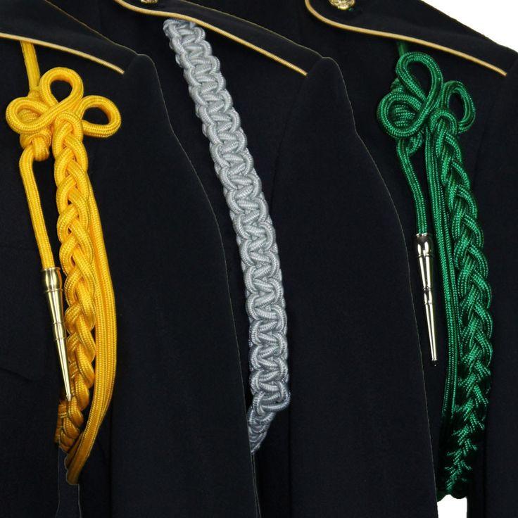 Army Color Specific Shoulder Cords