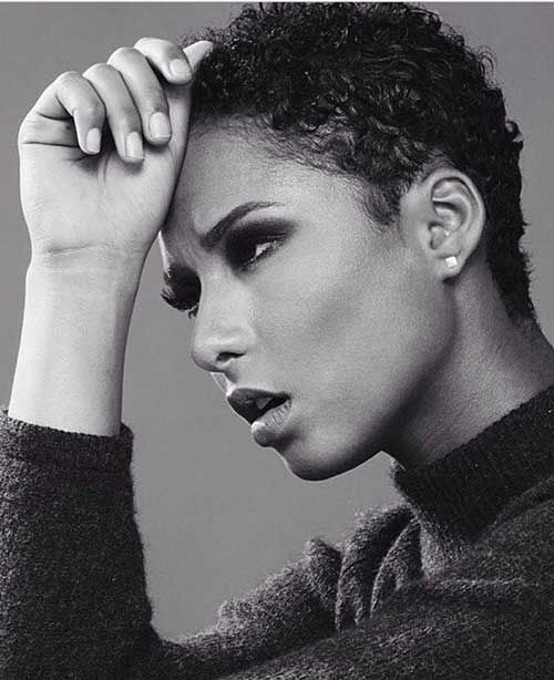 Awe Inspiring 1000 Ideas About Short Afro Hairstyles On Pinterest Haircut For Hairstyles For Women Draintrainus