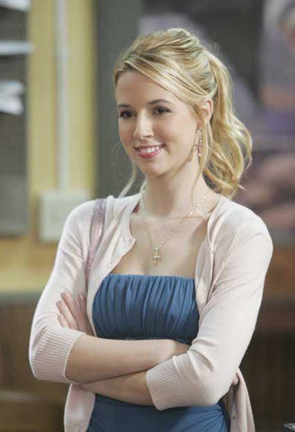 Alona Tal's easy ponytail
