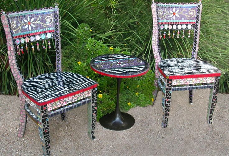 232 best images about MOSAIC FURNITURE on Pinterest