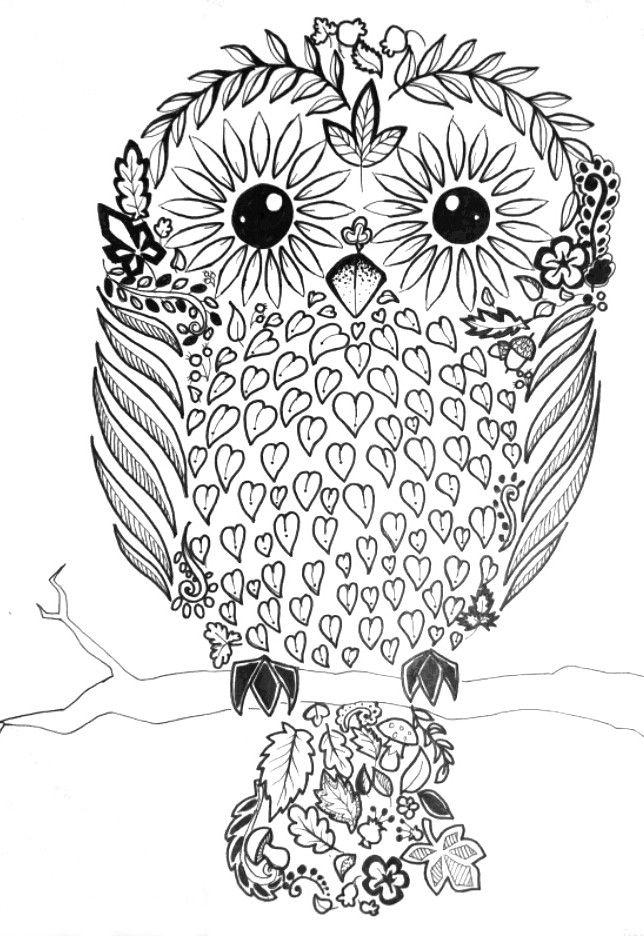 """""""Autumn owl"""" by  Maszkai"""