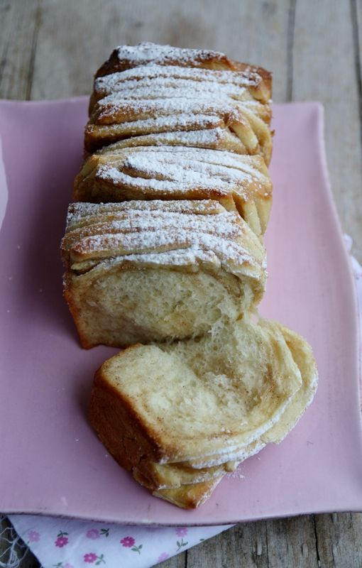 Brioche à la cannelle (Cinnamon pull-apart bread) - That's Amore!