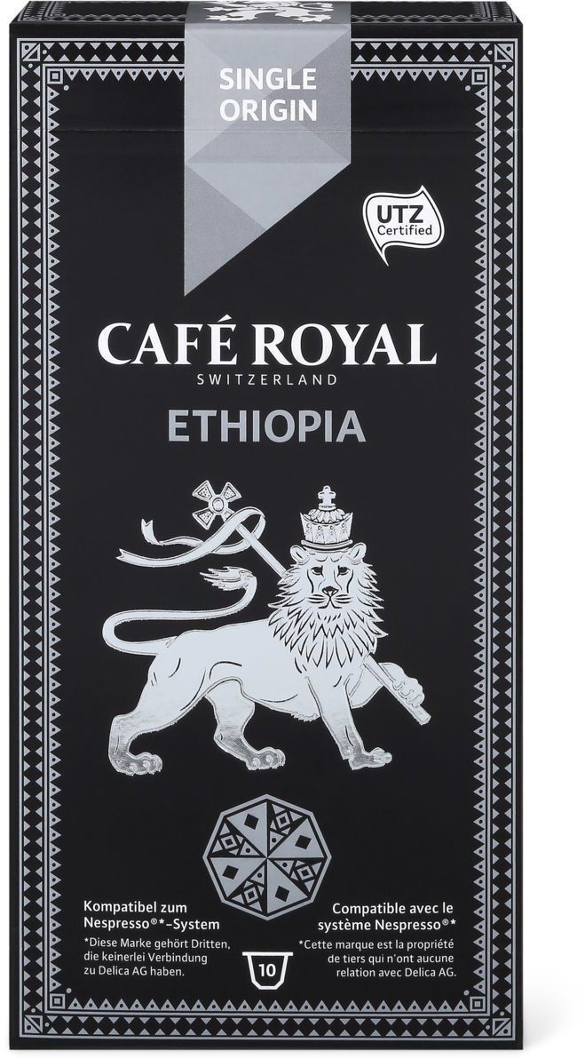 Café Royal Single Origin Ethopia #Coffee #Packaging