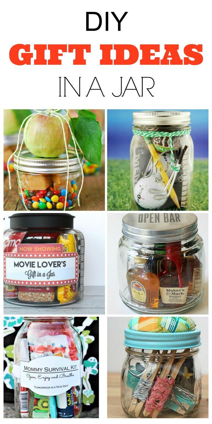 9 DIY Gifts Ideas In A Mason Jar