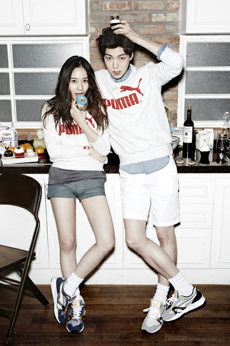 Krystal ; Ahn Jae Hyun PUMA