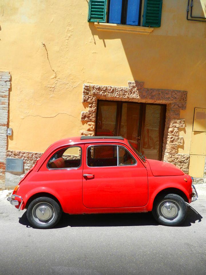 Fiat 500 / Perugia / Italy