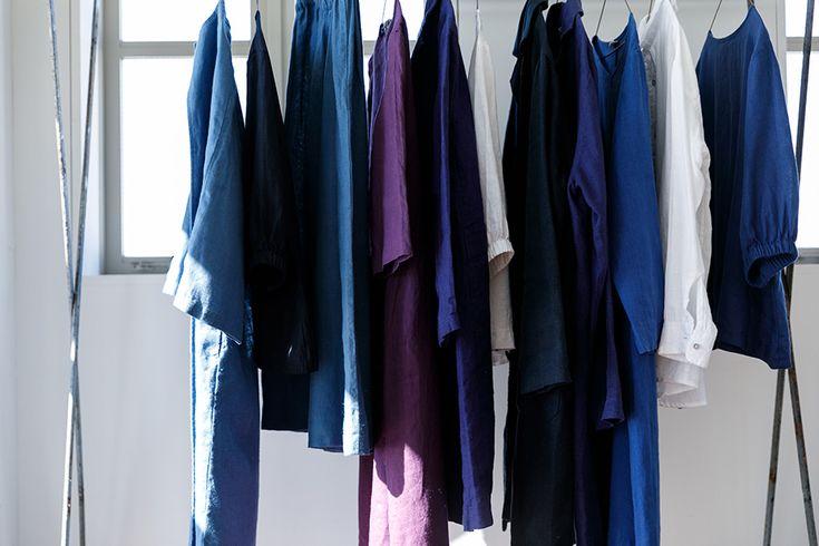 『FLW』デザイナー大橋利枝子さんに聞く春のリネン、ブルーを中心に新しいカラーコーディネート:くらすこと