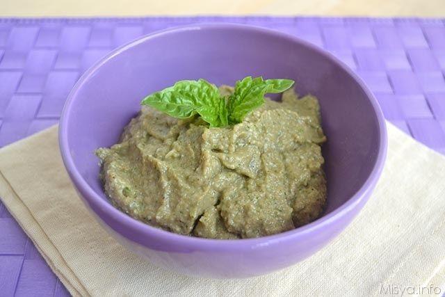 » Crema di melanzane Ricette di Misya - Ricetta Crema di melanzane di Misya