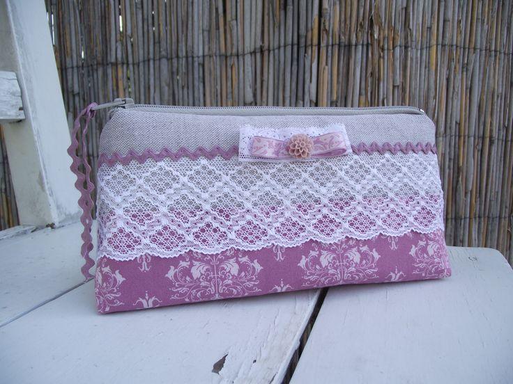 purple&lace beauty case