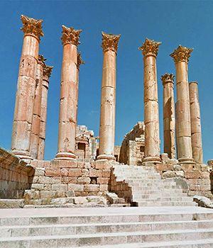 Monumenti di Jerash