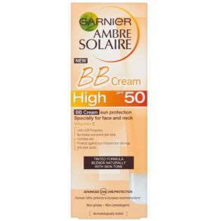 Garnier Ambre Solaire Güneş Koruyucu BB Krem SPF50 50ML #bakım #alışveriş #indirim #trendylodi    #güneşkremi #krem