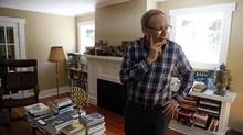 Jack Lohman, the CEO at the Royal BC Museum, spent almost $4,000 to move his books to his Victoria home when he relocated to Canada from England. (Chad Hipolito for The Globe and Mail)