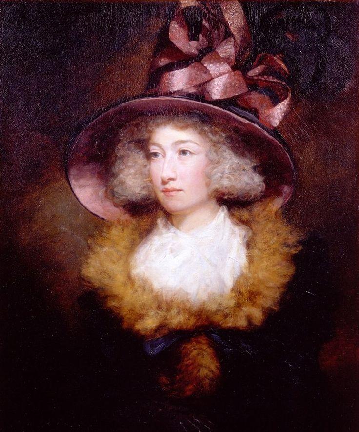 Portrait of Marie Dauncey, 1789, byJames Northcote