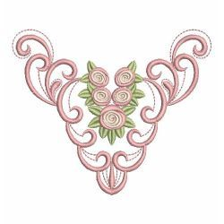 Heirloom Creative Roses 02(Md) machine embroidery designs