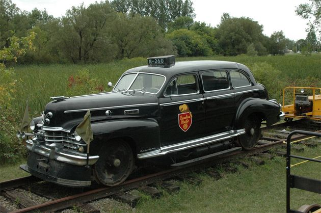 Old Police Cars | old railway police car