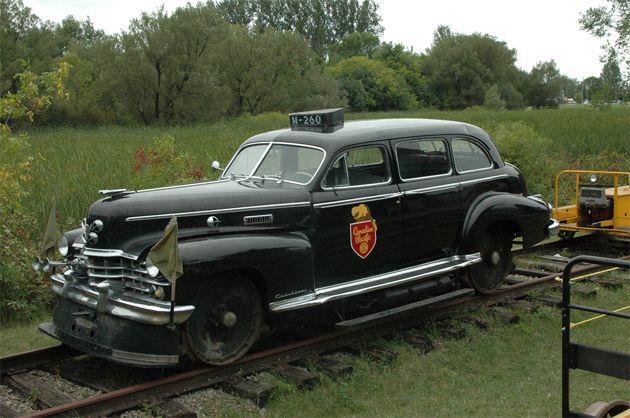 Old Police Cars | old railway police car