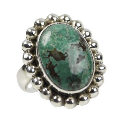 STERLING SILVER TURQUOISE MEXICANA GEMSTONE RING  http://melaniewoods.com/product/turquoise-mexicana-gemstone-ring/