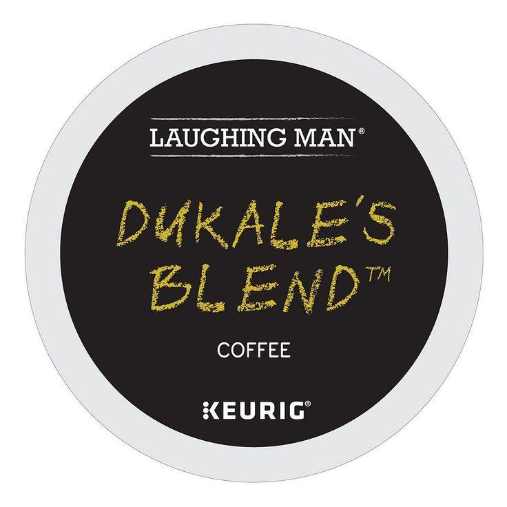 Laughing Man Coffee Keurig K-Cups, Dukale's Blend