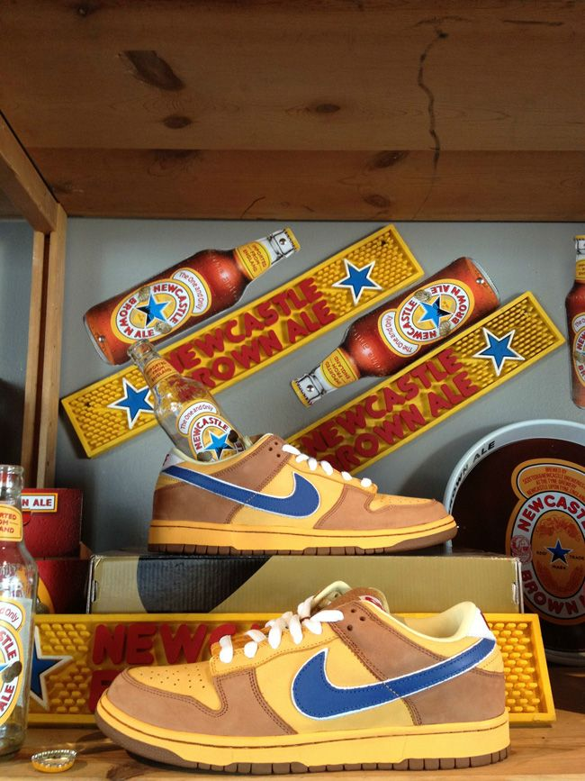 436336a23c47 11 Nike SB Sneakers Inspired by Beer   Liquor  Nike SB Dunk Low Newcastle  ...