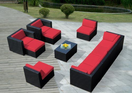 Genuine Ohana Outdoor Patio Wicker Sofa Sectional Furniture 11pc Gorgeous Couch Set with Free Patio Cover by Ohana Collection. Save 50 Off!. $2159.00. Factory Direct Price (MSRP $4,499.00). Free Patio Cover ($189 value ). All Weather Black PE Resin Wicker Couch Set provides a modular design, with many configuration options. All Ohana Collection are exclusively manufactured by Ohana Depot. 11pc Set includes 2 Club Chairs + 2 Corner Sofas + 4 Middle Sofas + 2 Ottomans +1 Coffee Table with…
