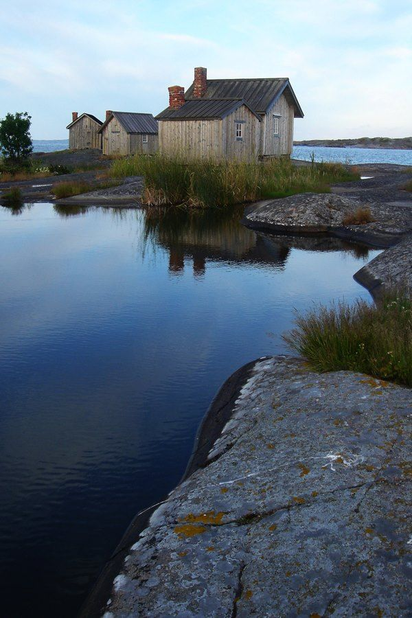 Sältningskär by Barbro Eriksson - Åland Finland