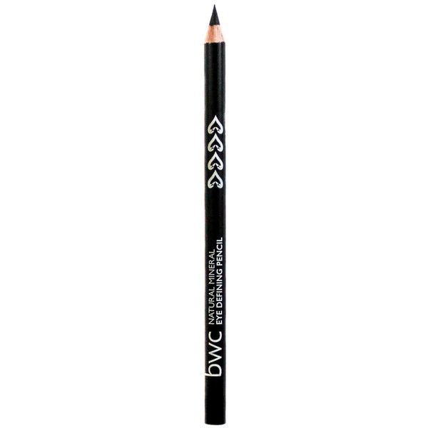 BWC Eye Defining Pencil ($7.53) ❤ liked on Polyvore featuring beauty products, makeup, eye makeup, eyeliner, black, pencil eye liner, pencil eyeliner and eye pencil makeup