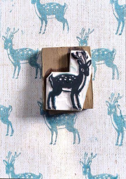 How to make DIY foam stamps via lilblueboo.com...