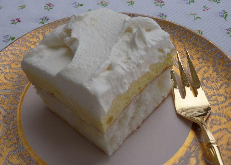 Lemon Mousse Angel Food Poke Cake Recipe: Good Food, Food Michigan, Angel Food Cake, Mousse Angel, Poke Cakes, Food Poke, Lemon Mousse, Cake Recipes, Food Cakes