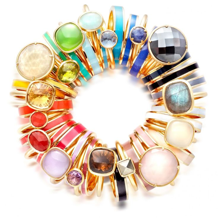 Moonstone Swivel Rings by Astley Clarke