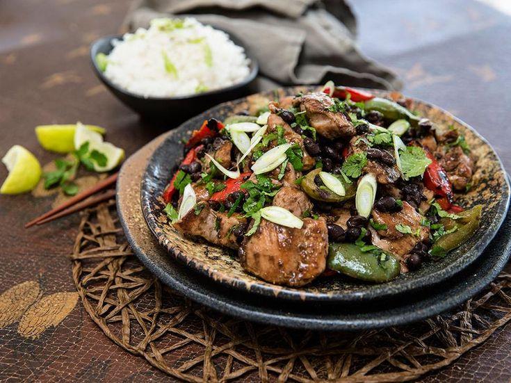 Black Bean and Chicken Recipe - Viva