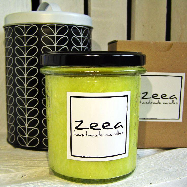 Naturalna świeca zapachowa Juicy Melon ... żółty i soczysty :)
