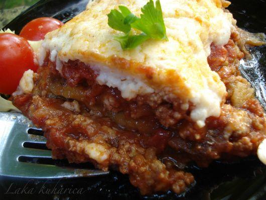 Classic Greek Moussaka recipe - Foodista.com