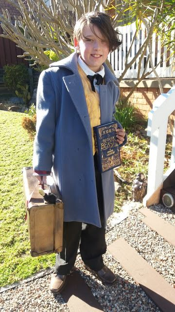 Fantastic Beasts and Where to Find Them Newt Scamander Cosplay Kostüm