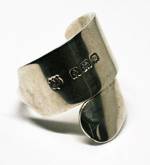 Handmade Sterling Silver Knife Ring