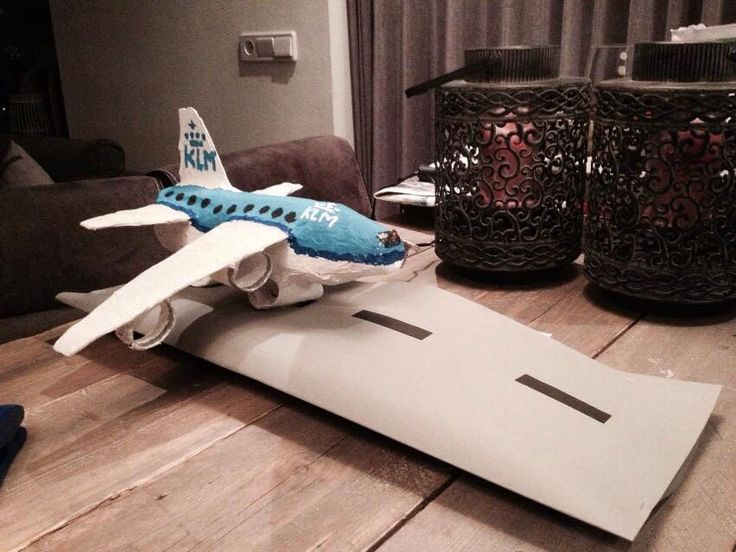 Surprise Klm Vliegtuig Vliegtuig Knutselen Knutselen