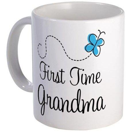 First Time Grandma Coffee Mug