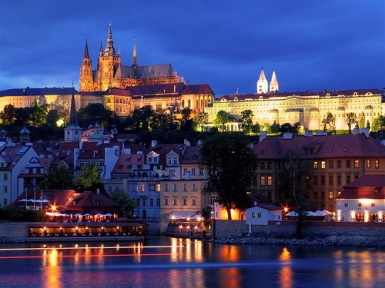 Prague for the Fringe Festival in May/June.