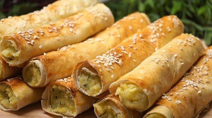 Bine ati venit in Bucataria Romaneasca. Astazi va prezentam o reteta de Aperitiv. Lista de ingrediente: -unt; -2 lipii subtiri; -1 galbenus + 1 lingura lapte; Lista de ingrediente pentru