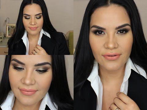 Maquillaje para Oficina / Dia   Mytzi Cervantes - YouTube